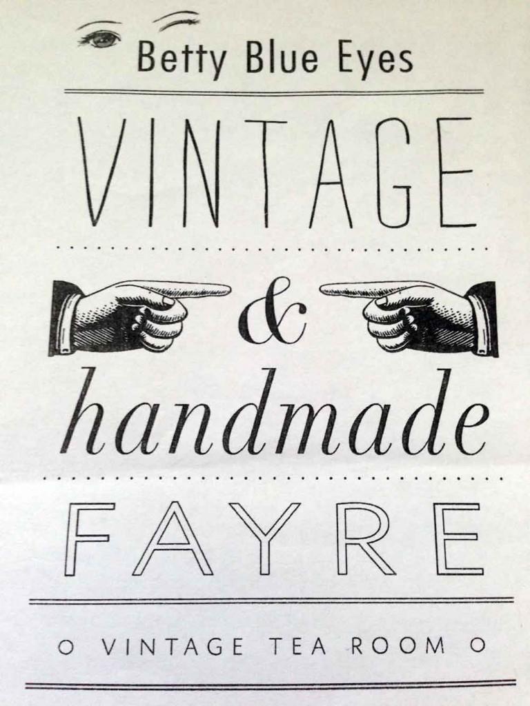 Vintage & Handmade Fayre
