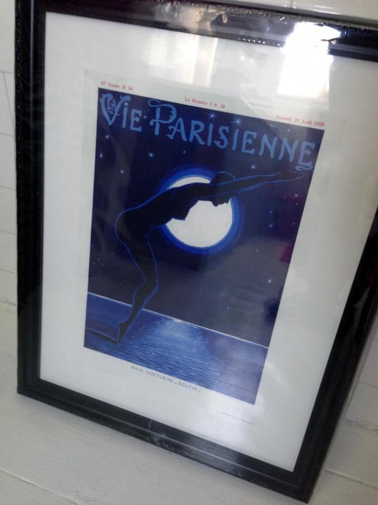 La Vie Parisienne Print by Leonnec