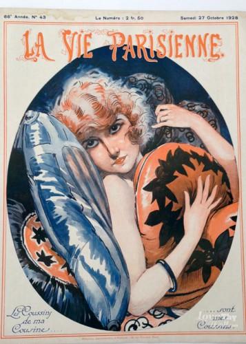 La Vie Parisienne magazine Art Deco image