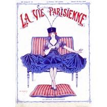 Full design - La bague 1916 - La Vie Parisienne Print