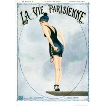 Full design - Le Courage 1916 - La Vie Parisienne Print