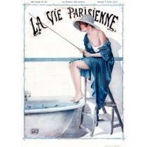 Full design - Martine pecheuse 1917 - La Vie Parisienne Print
