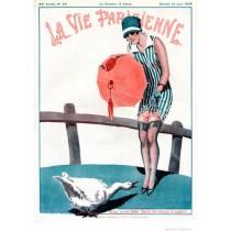 Full design - Mon vieux jars 1926 - La Vie Parisienne Print
