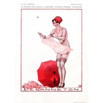 Full design - La science 1926 - La Vie Parisienne Print