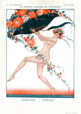 Full design - Printemps commence 1921 - La Vie Parisienne Print