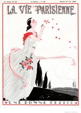 Full design - Une bonne petite 1923 - La Vie Parisienne Print