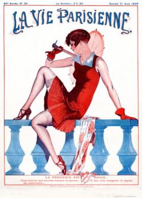 Full design - Penitence 1926 - La Vie Parisienne Print