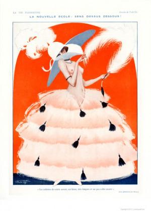 Full design - La nouvelle ecole 1920 - La Vie Parisienne Print