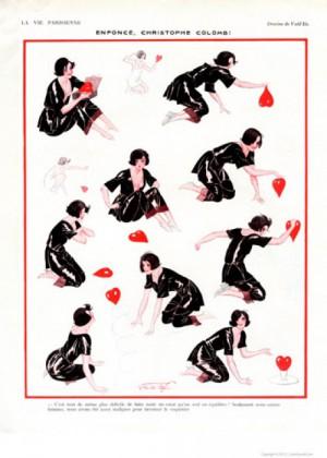 Full design - Enforce 1923 - La Vie Parisienne Print
